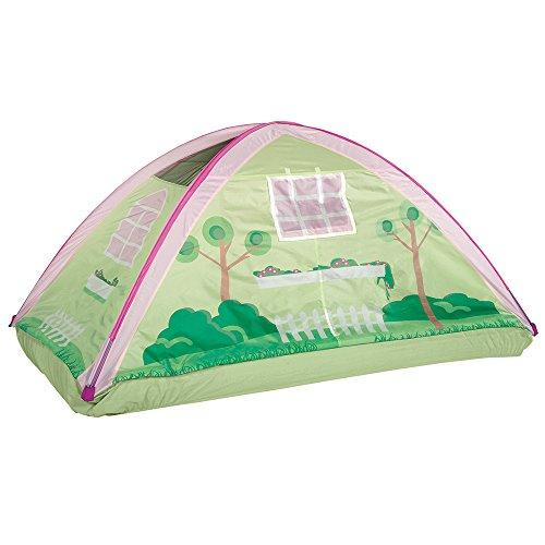 Pacific Play Tents 19601 Kids Cottage House Bed Tent Playhouse - Fits Full Size Mattress