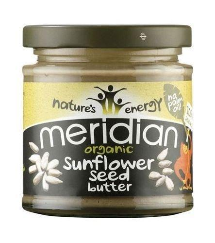 (Pack Of 12) - Organic Smooth Sunflower Seed Butter | MERIDIAN FOODS - No GM Soya us