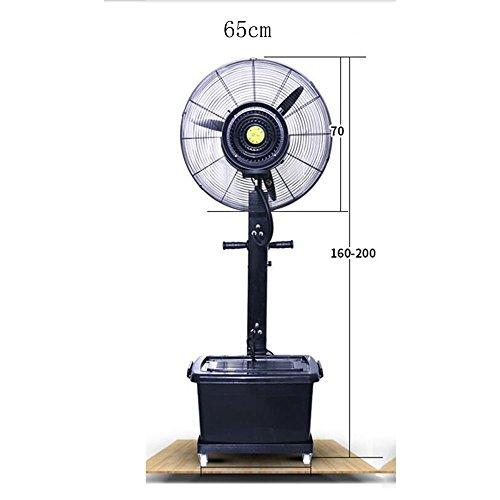 PAIOUPAIOU Fans for Living Room Sp atomizing fan atomizing fan factory dusting atomizing humidifier (Color : 65cm)