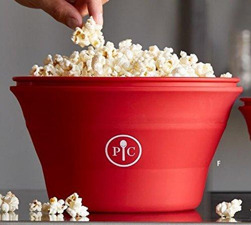 Pampered Chef Family-Size Microwave Popcorn Maker
