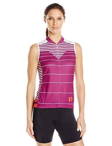 Pearl Izumi - Ride Women's Select Sleeveless Semi-Form Fit Jersey, Moto Purple Wine, X-Large