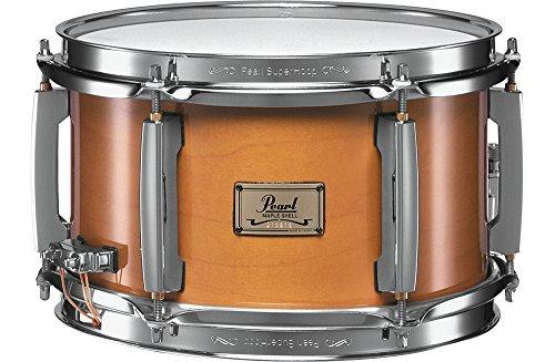 Pearl M1060102 Maple Popcorn Snare Drum, 10-inchx6-inch, 6 ply, Natural Maple