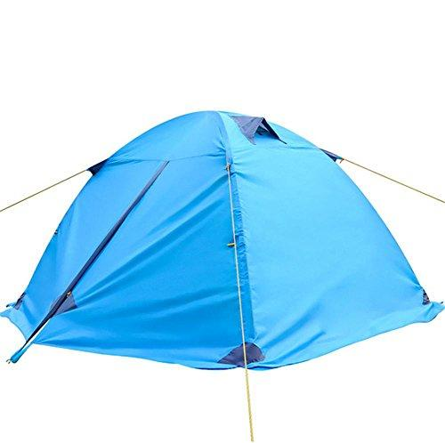 pengweiOutdoor double double rainproof aluminum pole tent camping winter snow skirt , 2