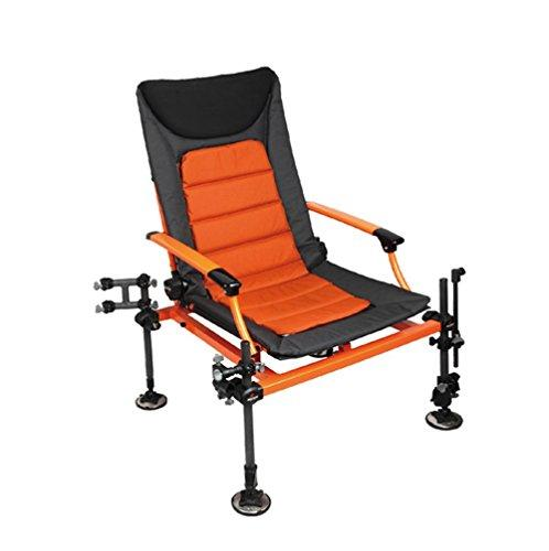 pengweiStainless steel folding multi-function fishing chair can be raised and raised legs fishing chair