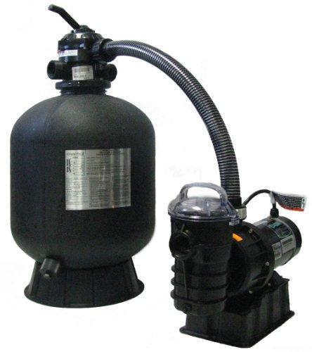 Pentair StaRite SRCF2019DE1260 CristalFlo II Aboveground Sand Filter System with 1 HP Dynamo Pump
