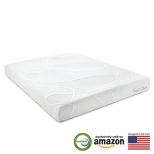 Perfect Cloud Supreme Memory Foam Mattress (Full) - 8-inches Tall - Featuring New Air Flow Foam Technology for All-Night Comfort