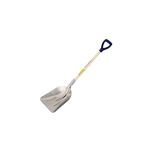 Perrin 145634 Snow Shovel/Aluminium Grit 34 cm Plastic Handle Ground Garden Tools Neutral