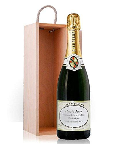 Personalised Champagne with Gift Box - the perfect gift