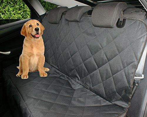 Petastical Best Car Seat Covers for Dogs | Waterproof Car Seat Protector for Pets and Kids | Use as Car Hammock for Pets or Back Seat Covers for Dogs | Quilted, Non-Slip Back