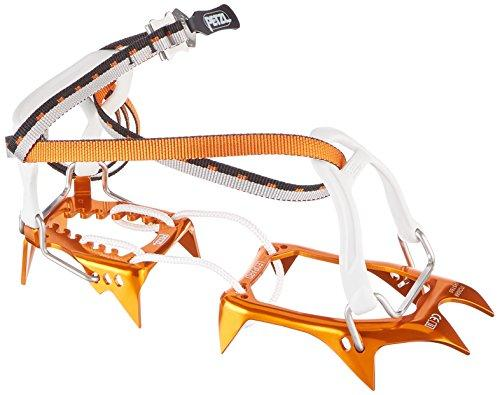 Petzl. Leopard FL Ultralight Crampons with FlexLock Binding System for Zustiege on Snow Fields – One size
