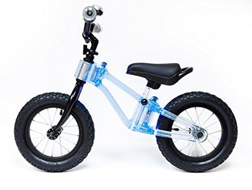 "Phantom Frames Blinky 12"" Balance Bike - BLUE LED (FLASHING)"