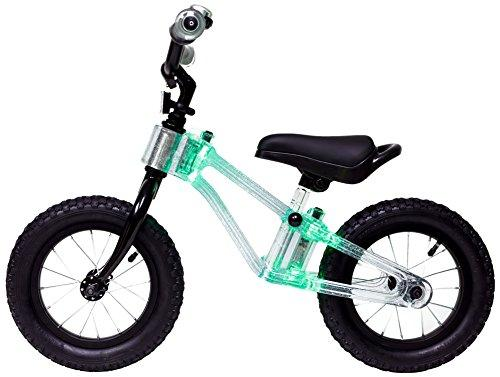 "Phantom Frames Blinky 12"" Balance Bike - GREEN LED (FLASHING)"