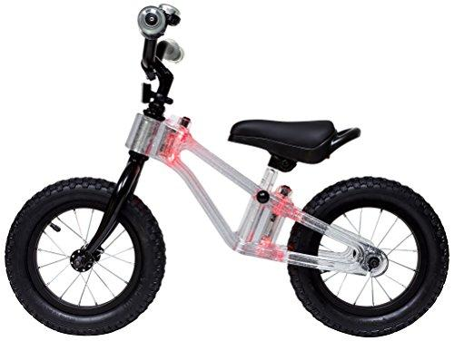 "Phantom Frames Blinky 12"" Balance Bike - RED LED (FLASHING)"