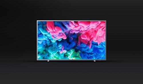 Philips 55PUS6523/12 55-Inch 4K Ultra HD Smart TV with HDR Plus and  Freeview Play - Dark Silver (2018 Model)