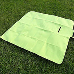 Picnic Blanket - Outdoor Leisure Grass Picnic Cushion, Baby Crawling Mat Matcha Green (1.5 M * 1.3 M)