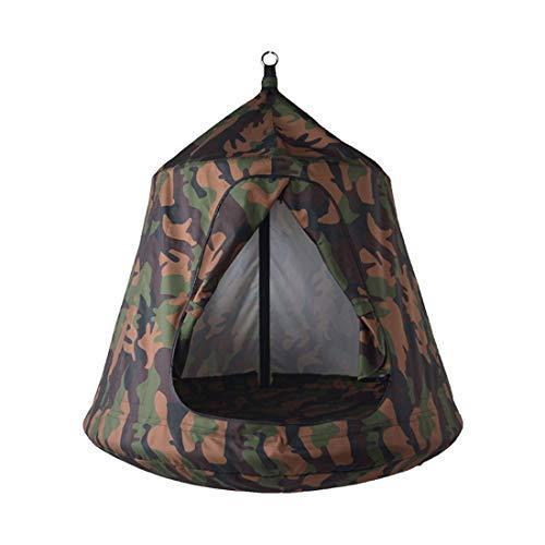 Pink day Hammock Multicolor Children Hanging Tent Indoor Outdoor Swing Camping Leisure Chair Hammock Does Not Contain Pillows 83 * 12 * 57 (color : Camouflage#)