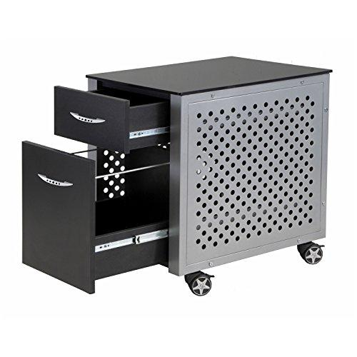 Pitstop Furniture FC230B Black File Cabinet