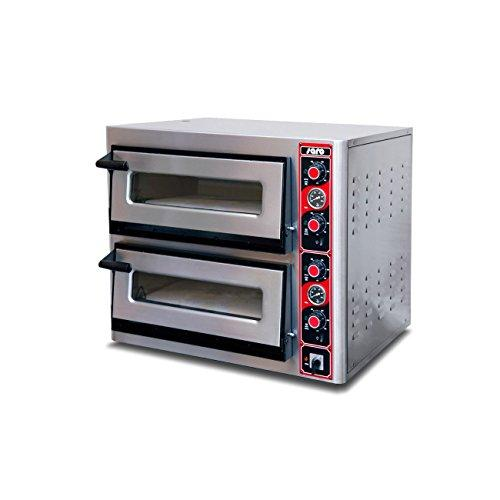 Pizza Oven 2x4xø30Fabio Model 2620-Saro