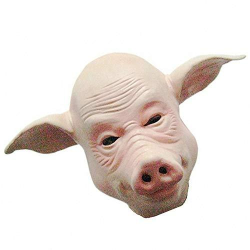 pjhgs makeup party performance supplies halloween pig face mask