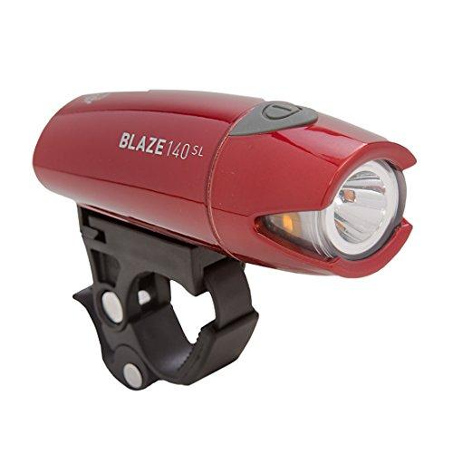 Planet Bike Blaze 140 SI Bike Headlight, Chrome Red
