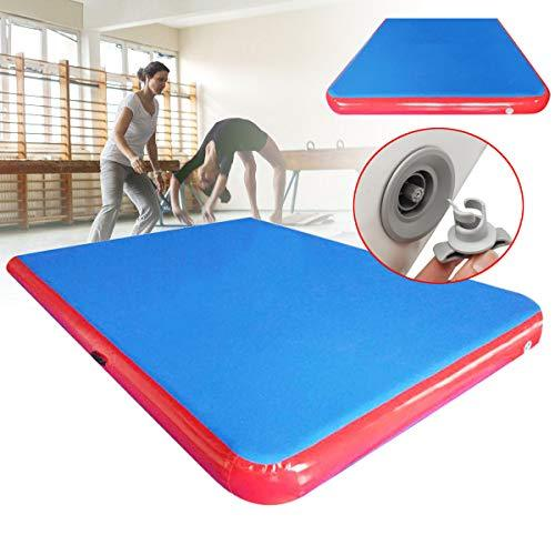Plat Firm 118Ã-79Ã-4inch Inflatable GYM Air Track Mat Airtrack Gymnastics Mat Tumbling Climbing Pilates Pad