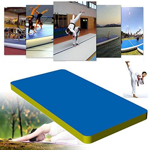 Plat Firm 275.6x35.4x3.9 Inflatable Air Track Mat Outdoor Home Training Tumbling Gymnastics Protective Pad