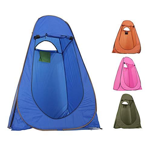 Plat Firm Outdoor Portable Pop UP Changing Tent Bathing Toilet Camping Hiking Sunshade Canopy