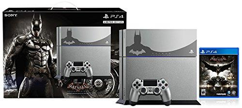 PlayStation 4 500GB Console - Batman Arkham Knight Bundle Limited Edition並行輸入