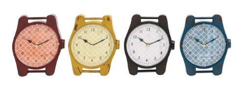 Plutus Brands The Jolly Metal Desk Clock 4 Assorted