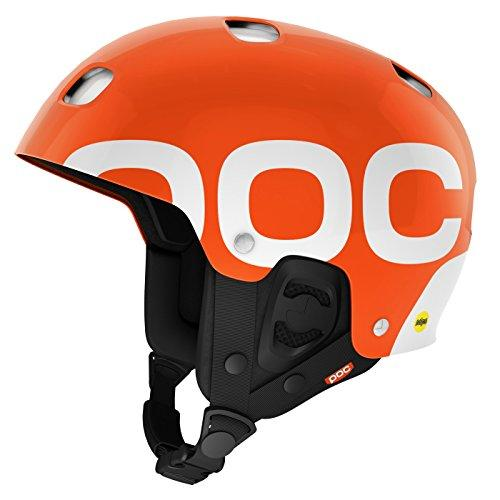 POC Receptor Backcountry MIPS Helmet (Iron Orange, M)