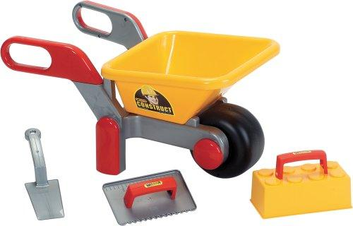 Polesie 38029 Building Wheelbarrow Filled Construct-Summer Toys, Multi Colour