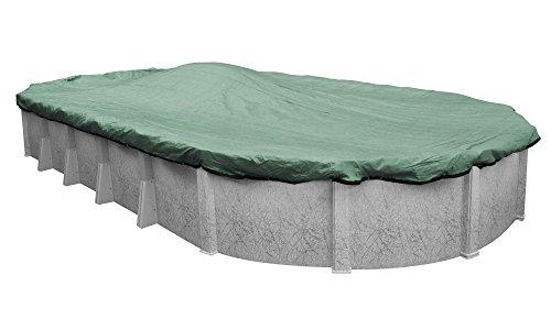 Pool Mate 411833-4 Extreme Mesh Winter Cover for 18 by 33 Foot Oval Above-Ground Swimming Pools