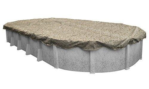 Pool Mate 531632-4-PM 12-Year Camo Winter Cover for Oval Above Ground Swimming Pool, 16 x 32'