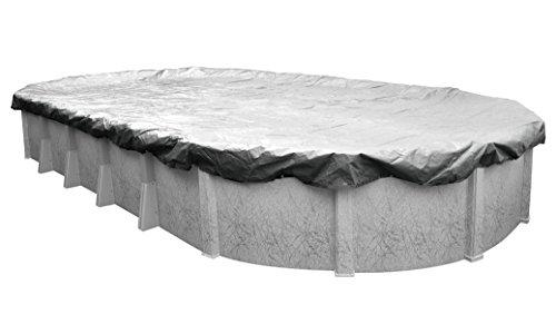 Pool Mate 551632-4 Silverado Winter Cover for 16 by 32 Foot Oval Above Ground Swimming Pools