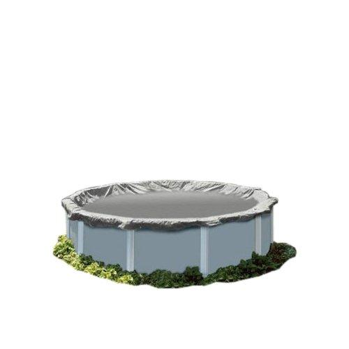 PoolTux 12122036A King Winter Cover for 16-Feet by 32-Feet Oval Above Ground Pool