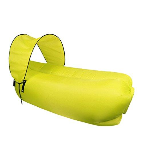 Portable Lazy Lounger Sleeping Bag, Waterproof Inflatable Sofa Air Lounge Chair Folding Inflatable Lounge Chair Suitable For Summer Camping, Hiking, Beach, Fishing, Park, Garden (Color : B)
