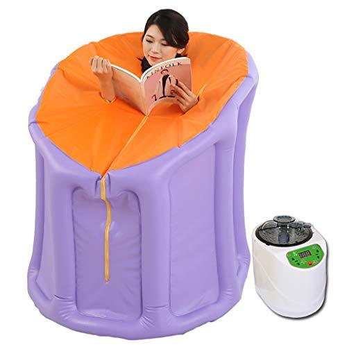 Portable Steam Sauna with Steam Generator Home Sauna Box for Slimming Detoxin Burning Calaries Relieve Pains Massage