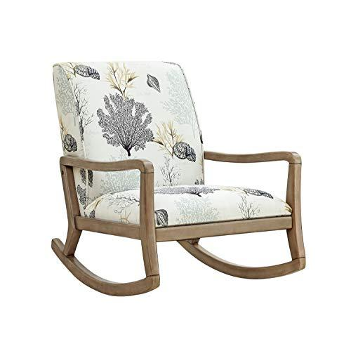 Powell Rocking Chair, Wood Natural