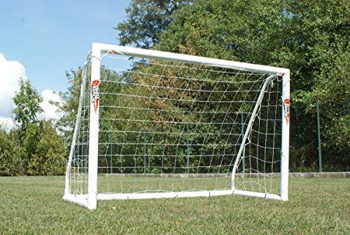 POWERSHOT® locking football goal post 8 ' x 4 ' ***WEATHERPROOF WITH 2 YEAR WARRANTY***