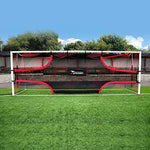 Precision Training Football Soccer Target Practice Training Shot Goal Net 12'x6'