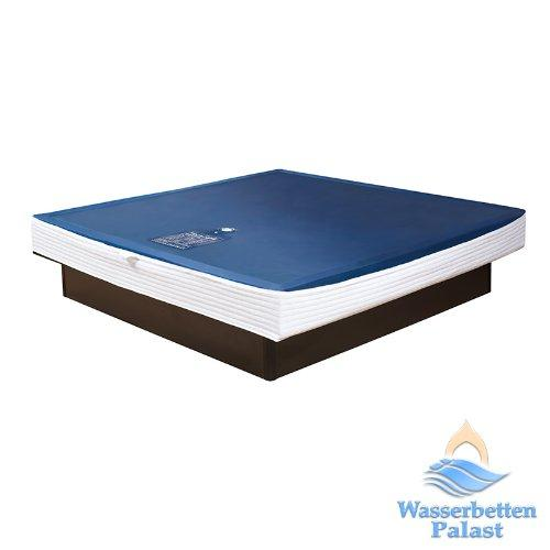 Premium Comfort Waterbed mattress for solo softside beds with tapered foam frame – motion reduction 90% - suitable for bed size: 6'6'' x 6'11''