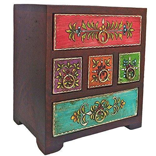 Present Company Bohemian Jewellery Chest Hand Painted