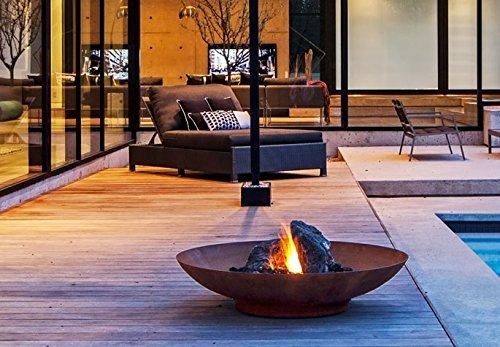 Primrose 60cm Corten Steel Fire Pit and Water Bowl - Primrose 60cm Corten Steel Fire Pit And Water Bowl – High Quality Store