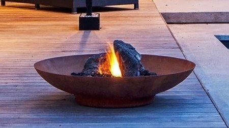 Primrose 80cm Corten Steel Fire Pit and Water Bowl - Primrose 80cm Corten Steel Fire Pit And Water Bowl – High Quality Store