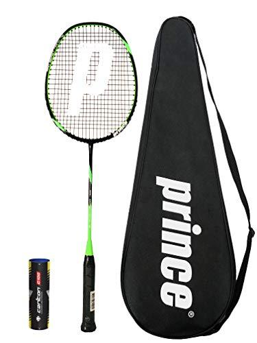 Prince PRO Beast Graphite Badminton Racket Series with Full Protective Cover + 6 Shuttles