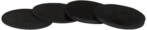 Pro Series ACRS4 25 3-Inch Rubber Pool Table Shims, 1/4-Inch