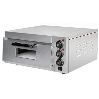 Professional Compact Electric Pizza Oven 560 x 570 x 280h mm for 1 Pizza 38 cm PEK20 Estambul Line