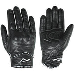 Protective Summer Motorcycle Motorbike Leather Gloves Racing Quality Black L
