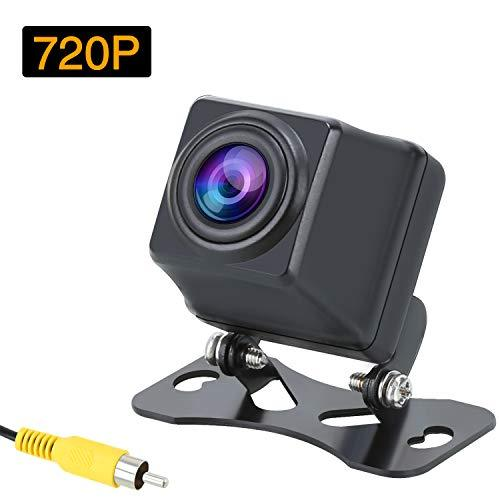 PUMPKIN 720P HD Car Rear Reverse Camera Parking Backup Camera with IP69K Waterproof Rating Support 170°Wide Angle IR LED Night Vision