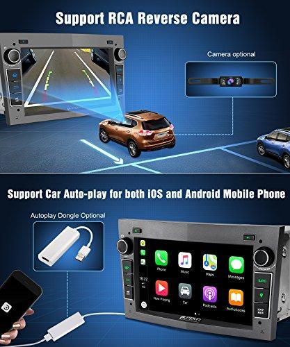 Pumpkin Android 8 0 Car Stereo Head Unit for Opel Vauxhall Astra Zafira  Corsa 4GB RAM with Sat Nav Bluetooth Support GPS WiFi DAB+ Android Auto  128GB